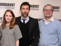 Anna Madeley, Jonathan Cake and David Grindley at the photocall of