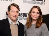 Matthew Broderick and Anna Madeley at the photocall of