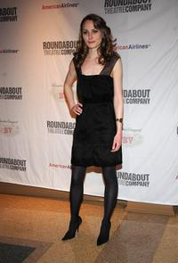 Anna Madeley at the after party of the Broadway opening night of