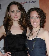 Anna Madeley and Guest at the after party of the Broadway opening night of