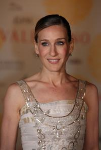Sarah Jessica Parker at the Valentino In Rome 45 Years Of Style post-exhibit gala dinner.