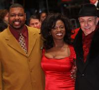 Michael J Smith Sr, Tarra Riggs and Dieter Kosslick at the premiere of