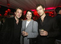 Trey Parker, Sherry Lansing and Matt Stone at the after party of the premiere of