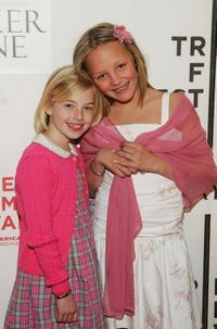 Gabrielle Brennan and Chelsea Lopez at the premiere of