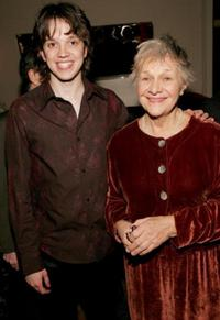 Eric Millegan and Estelle Parsons at the world premiere of