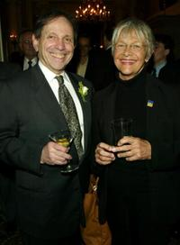Alan Eisenberg and Estelle Parsons at the 90th Anniversary of Actors Equity in New York.