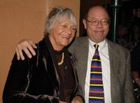 Estelle Parsons and Tim Choi at the after party of