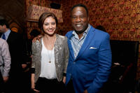 Christine Evangelista and Isiah Whitlock Jr. at the Entertainment Weekly & ABC-TV Upfronts Party.