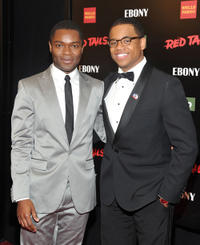 David Oyelowo and Tristan Wilds at the New York premiere of