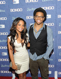 Christina Milian and Tristan Wilds at the launch of Audrina Patridge's new VH1 reality show