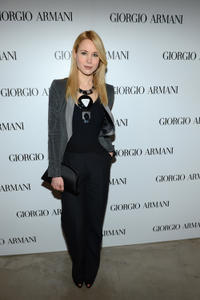 Kristen Hager at the Giorgio Armani Beauty Luncheon in California.