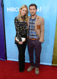Kristen Hager and Sam Huntington at the Day 2 of the NBCUniversal's