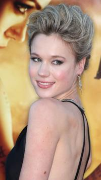 Kristen Hager at the premiere of