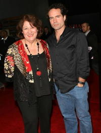 Margo Martindale and Jason Patric at the premiere of
