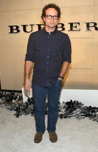 Jason Patrick at the grand re-opening of the Burberry Beverly Hills store.