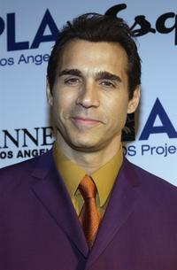 Adrian Paul at The Envelope Please Oscar Viewing Party.