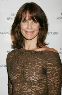 Alexandra Paul at the Archbishop Desmond Tutu's 75 birthday gala fundraiser,