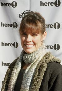 Alexandra Paul at the Sundance Outfest Queer Brunch with John Waters during the 2006 Sundance Film Festival.