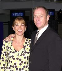 Amanda Pays and her husband Corbin Bersen at The Museum of Television and Radio's Annual Gala.