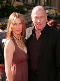Amanda Pays and Corbin Bersen at the 34th Annual Daytime Emmy Awards.
