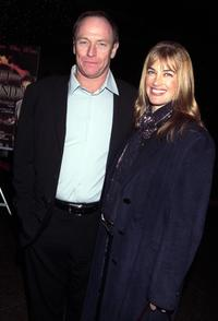 Amanda Pays and her husband Corbin Bernsen at the Los Angeles theatrical premiere of