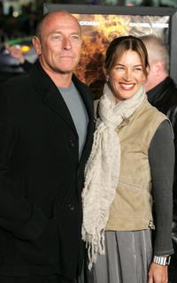 Amanda Pays and her husband Corbin Bernsen at the US premiere and Centerpiece Gala of