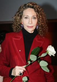 Marisa Berenson at the First Global Summit On Cervical Cancer.