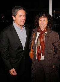Brad Grey and Rhea Perlman at the premiere of