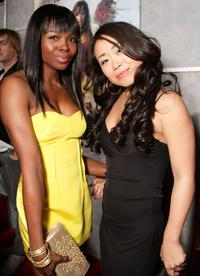 Telisha Shaw and Mari Koda at the World premiere of