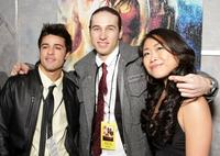 Luis Rosado, Christopher Scott and Mari Koda at the World premiere of