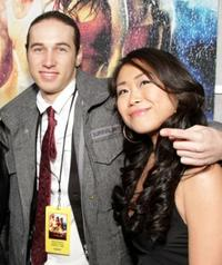 Christopher Scott and Mari Koda at the world premiere of