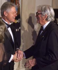 Gregory Peck at the National Medal Of Arts and Humanities dinner at White House.