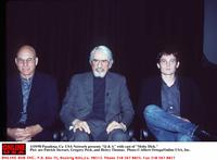 Gregory Peck, Patrick Stewart and Henry Thomas at the USA Network