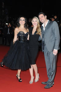 Joy Esther, Isabelle Vitari and Gil Alma at the NRJ Music Awards 2013.
