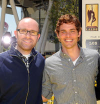 John Cohen and James Marsden at the premiere of