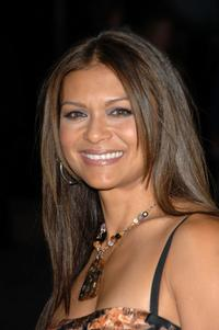 Nia Peeples at the after party following a special VIP screening of