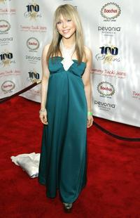 Ashley Peldon at the 18th Annual Night Of 100 Stars Gala.