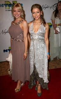 Ashley Peldon and Courtney Peldon at the 17th Annual Night Of 100 Stars Oscar Gala.