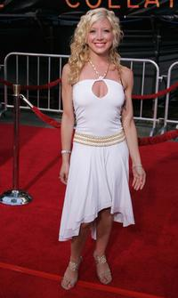 Courtney Peldon at the World premiere of