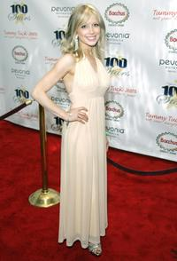Courtney Peldon at the 18th Annual Night of 100 Stars Gala.