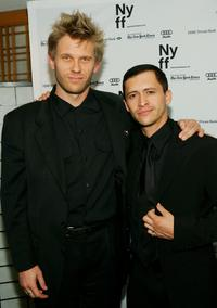 Mark Pellegrino and Clifton Collins Jr. at the premiere of