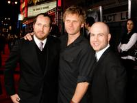 Producer Beau Flynn, Mark Pellegrino and Producer Tripp Vinson at the Los Angeles premiere of