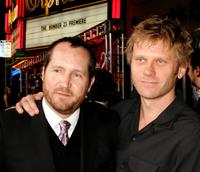 Producer Beau Flynn and Mark Pellegrino at the Los Angeles premiere of