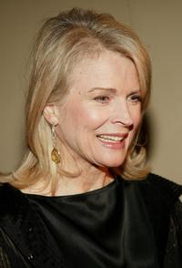 Candice Bergen at The Museum of Television and Radio's annual gala.
