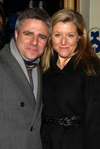 Neil Pepe and Mary McCann at the opening night of