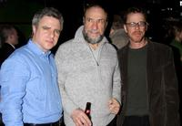 Neil Pepe, F. Murray Abraham and Ethan Coen at the opening night of the play