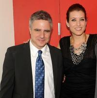 Neil Pepe and Kate Walsh at the opening night of