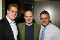 Jeffory Lawson, Christian Parker and Neil Pepe at the opening night of
