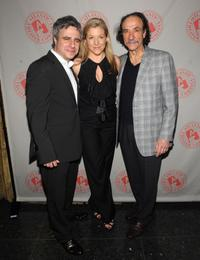 Neil Pepe, Mary McCann and F. Murray Abraham at the opening of