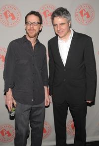 Ethan Coen and Neil Pepe at the opening of